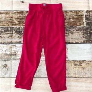 Gap jogger style pants from fall 2014 size 4